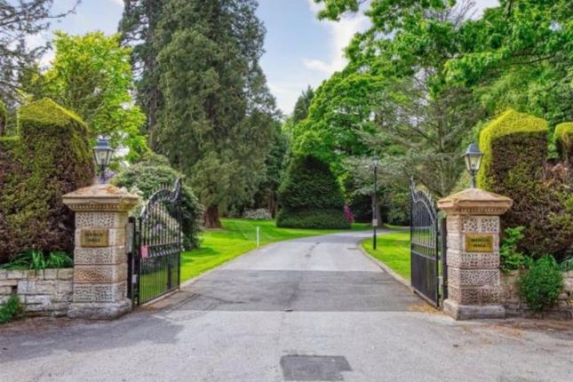 Gated Entrance of Wergs Hall, Wolverhampton WV8