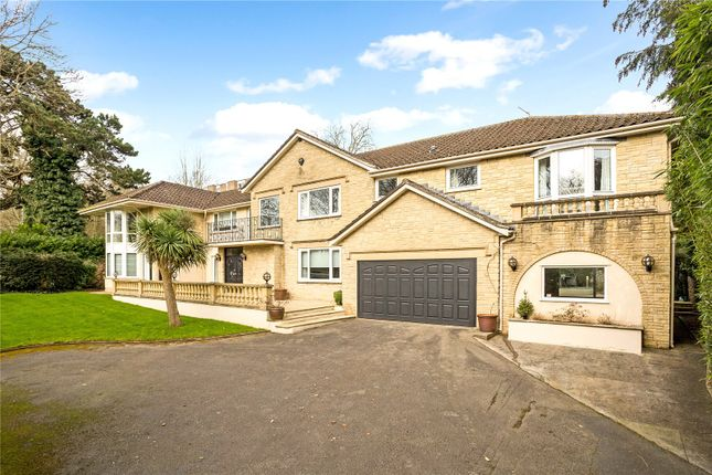Thumbnail Detached house for sale in Rownham Hill, Leigh Woods, Bristol