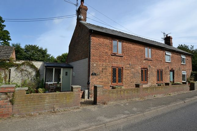 Thumbnail Cottage for sale in Lynn Road, Hillington, Kings Lynn, Norfolk.