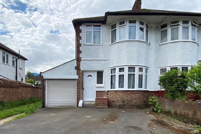 Thumbnail Semi-detached house for sale in Brentvale Avenue, Southall