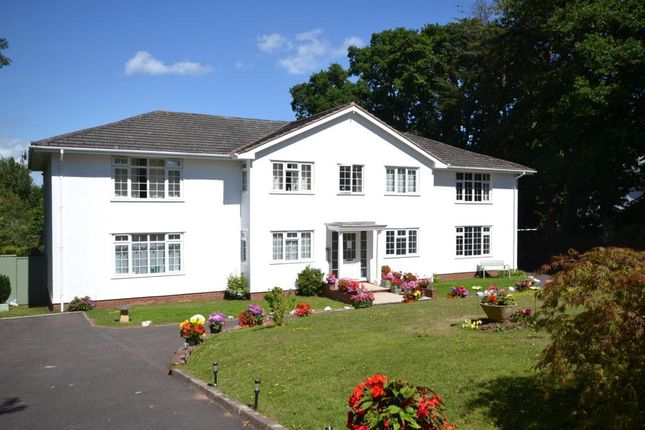 Mian Elevation of Brook Meadow Court, Exmouth Road, Budleigh Salterton, Devon EX9