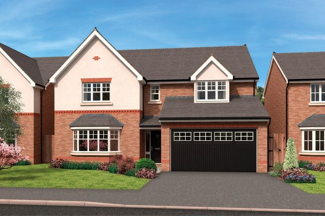Thumbnail Detached house for sale in Ankerage Green, Warndon, Worcester