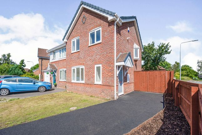 Thumbnail Semi-detached house for sale in Deanwood Close, Whiston, Prescot, Merseyside