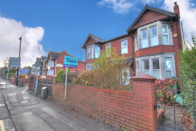 Thumbnail Semi-detached house for sale in Nursery Court, Llwyn Y Pia Road, Lisvane, Cardiff