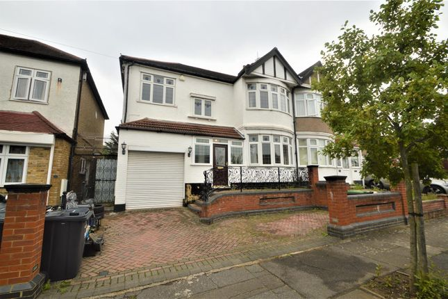 Thumbnail Semi-detached house to rent in Peterborough Gardens, Cranbrook, Ilford
