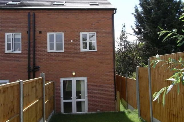 Thumbnail End terrace house to rent in Swan Lane, Oswestry
