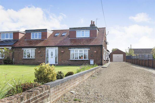Thumbnail Semi-detached house for sale in Tower Street, Flamborough, Bridlington
