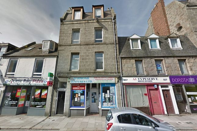 1 bed flat for sale in 553, George Street, First Floor Flat, Aberdeen AB253XX AB25