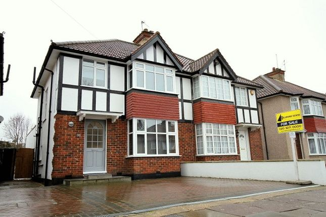 Thumbnail Semi-detached house for sale in Farm Road, Edgware, Middlesex