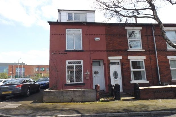 Thumbnail End terrace house to rent in Forshaw Street, Denton, Manchester