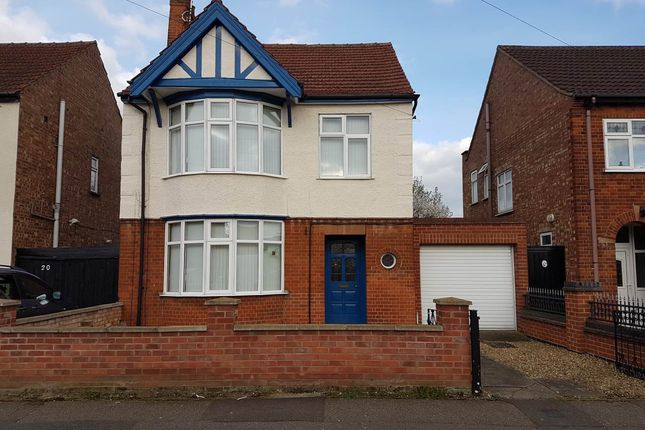 Thumbnail Detached house to rent in Silverwood Road, Peterborough