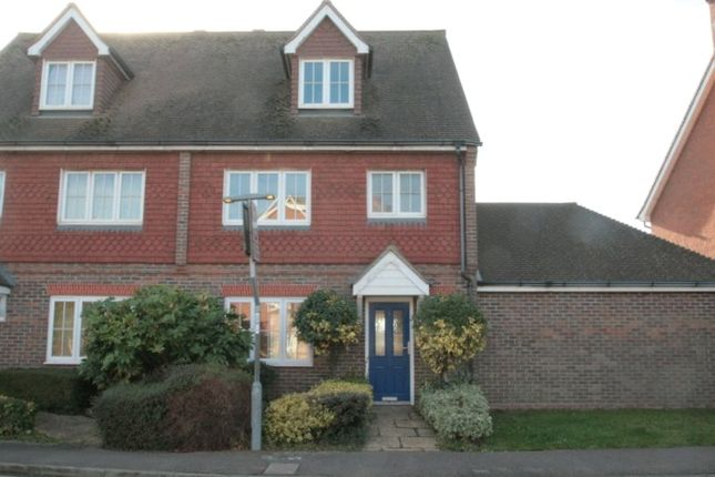 4 bed semi-detached house to rent in Bramley Way, Angmering, Littlehampton BN16