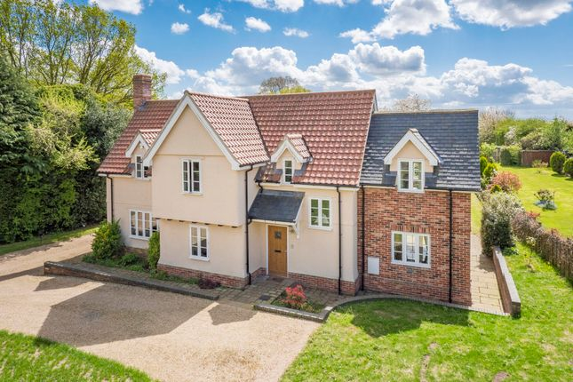 Thumbnail Detached house for sale in Rockalls Road, Polstead, Colchester