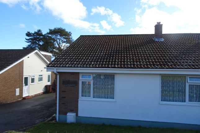 Thumbnail Semi-detached bungalow to rent in East Park, Pensilva, Liskeard
