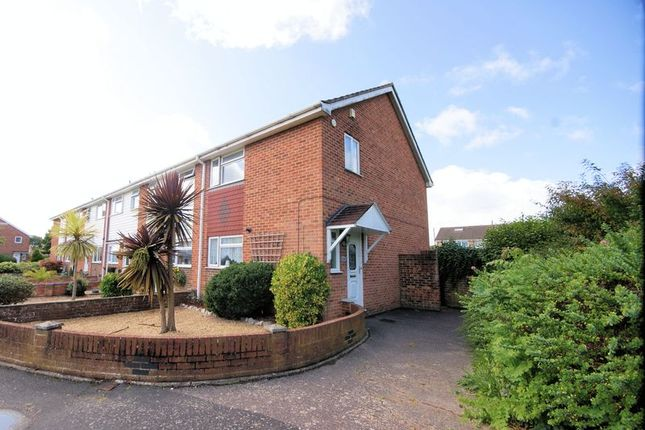 Thumbnail Terraced house for sale in Maynard Close, Gosport