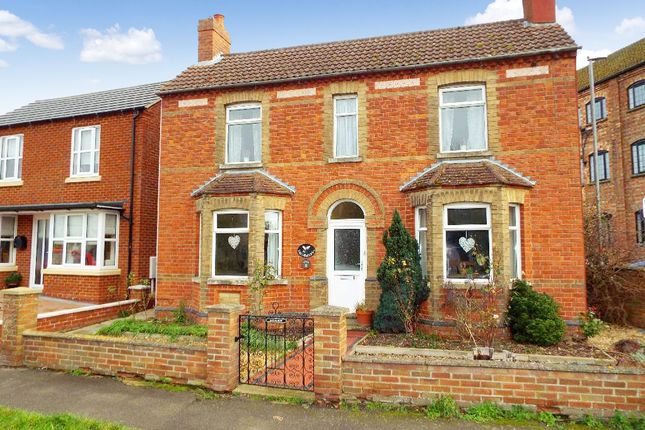 Thumbnail Detached house for sale in Wollaston Road, Bozeat, Northamptonshire