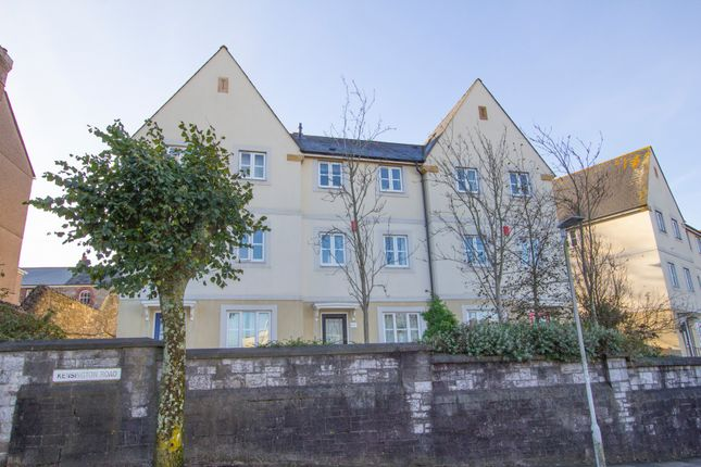 Thumbnail Town house for sale in Kensington Road, Lipson, Plymouth