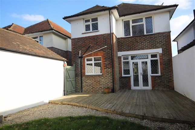 Rear Garden of George V Avenue, West Worthing, West Sussex BN11