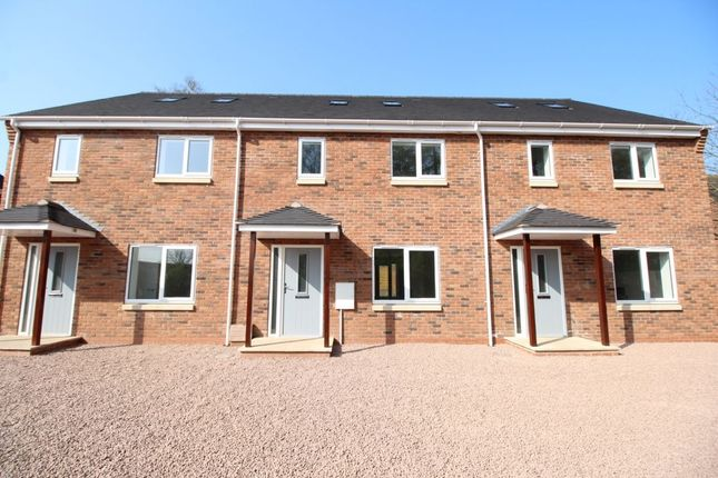 Thumbnail Terraced house for sale in Cheshire Point Station Road, Madeley, Crewe