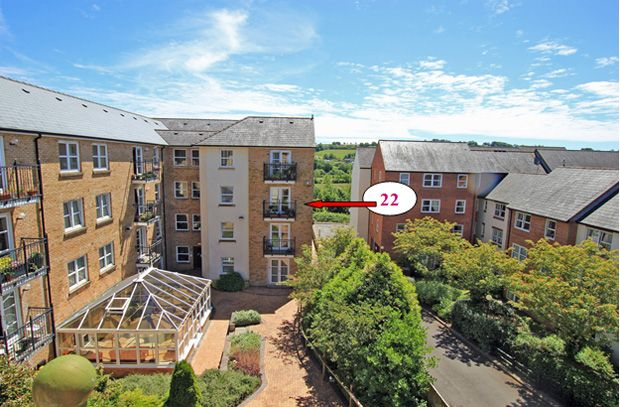 Thumbnail Flat for sale in Hafan Tywi, The Parade, Carmarthen, Carmarthenshire