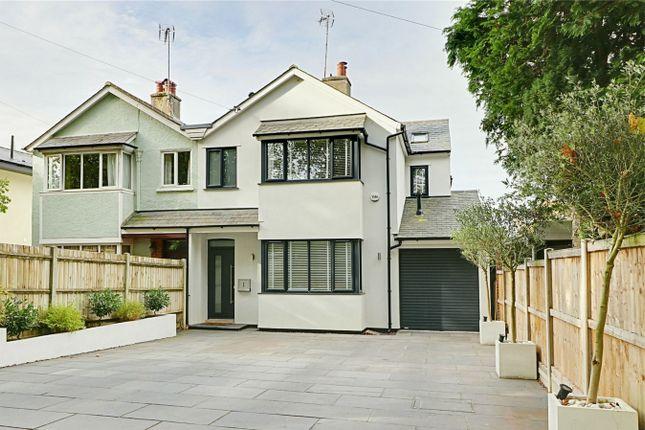 Thumbnail Semi-detached house for sale in Crescent Road, Bishop's Stortford, Hertfordshire