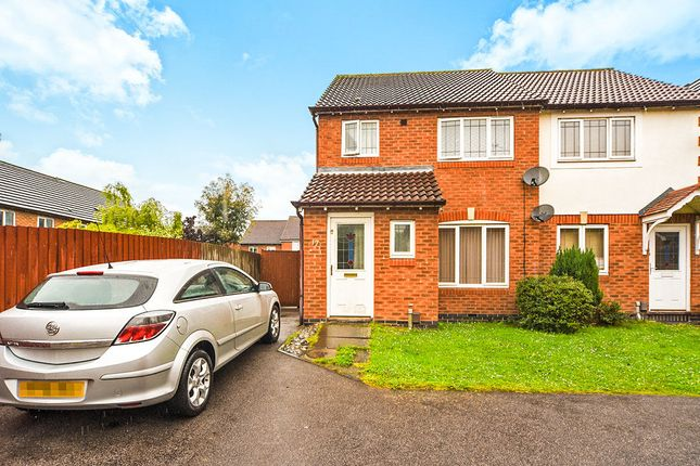 Thumbnail Semi-detached house for sale in Bramham Close, Leicester