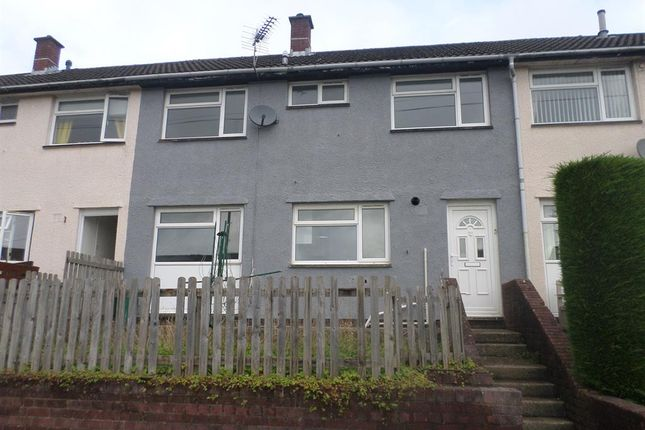 Thumbnail Terraced house to rent in Marshfield Court, Tonyrefail, Porth