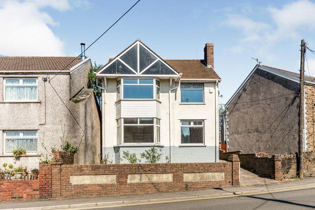Thumbnail Detached house for sale in Bridgend Road, Maesteg