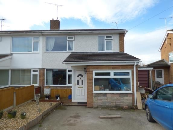 Thumbnail Semi-detached house for sale in Melwood Close, Penyffordd, Chester, Flintshire