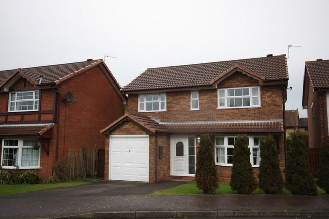 Thumbnail Detached house to rent in Parklands, Worle Weston Super Mare