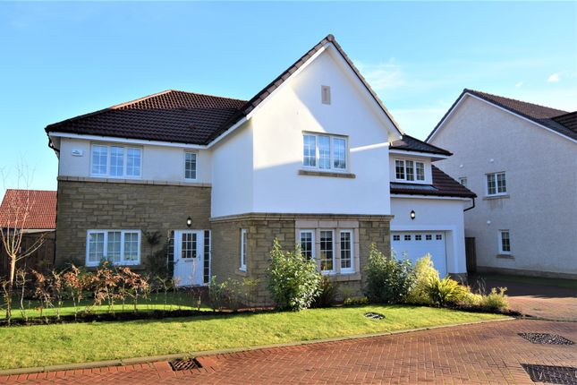 Thumbnail Detached house for sale in Mearnswood Lane, Glasgow