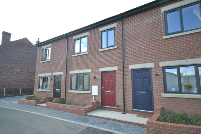Thumbnail Town house for sale in The Rookery, Silverdale, Newcastle-Under-Lyme