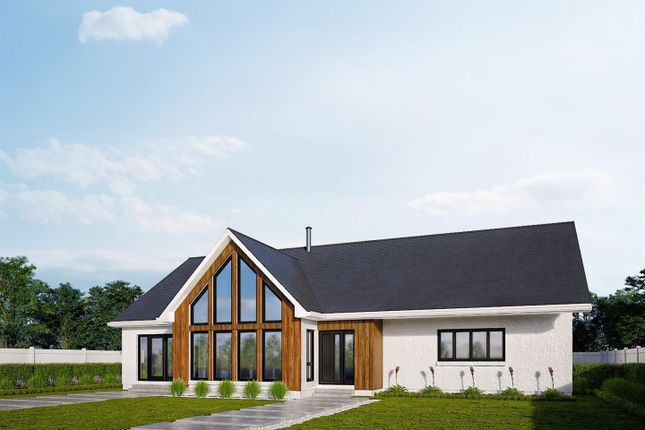 Thumbnail Detached bungalow for sale in Balblair, Dingwall