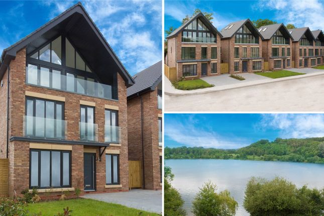 Thumbnail Detached house for sale in Mere View, Astbury Mere, Congleton, Cheshire