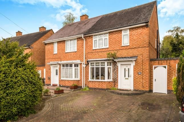 Thumbnail Semi-detached house for sale in Shirley Park Road, Shirley, Solihull, West Midlands