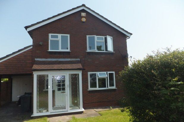Thumbnail Property to rent in Foxford Close, Sutton Coldfield