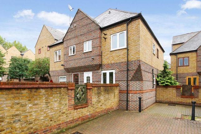 Thumbnail Semi-detached house to rent in Cunard Walk, London