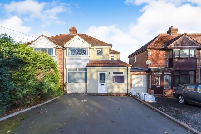 Semi-detached house in  Groveley Lane  Northfield  Birmingham  West Midlands  Birmingham