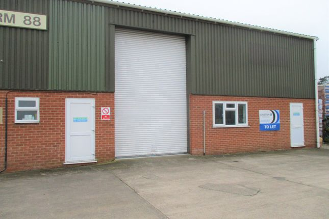 Thumbnail Light industrial to let in To Let - Unit B, Ashburton Ind Estate, Ross On Wye