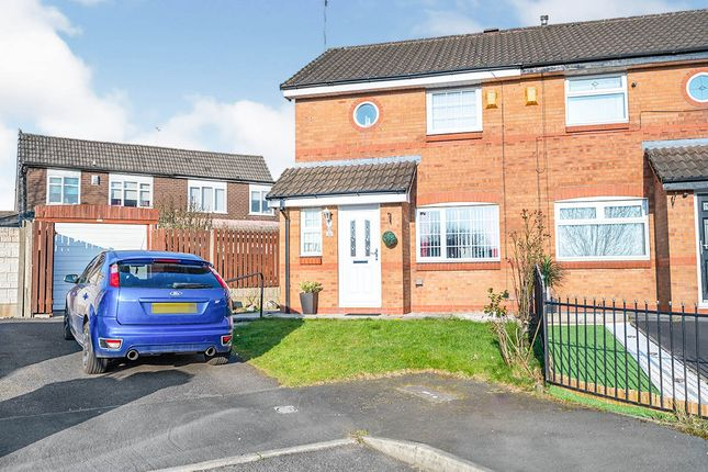 2 bed semi-detached house for sale in Grantham Crescent, St. Helens, Merseyside WA11