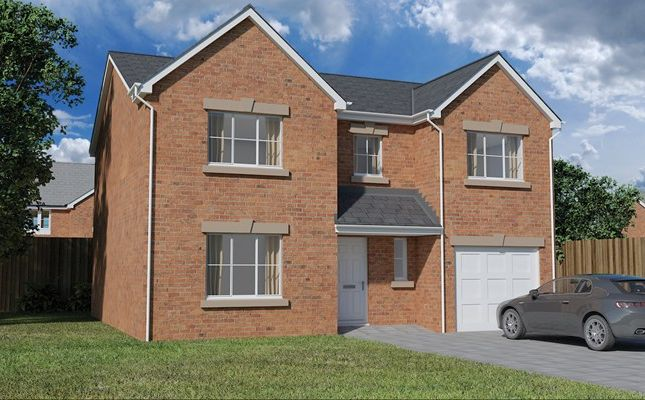 Thumbnail Detached house for sale in Nant Ffrwd, Beacon Heights, Merthyr Tydfil
