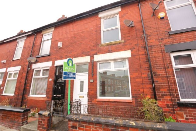 Thumbnail Terraced house to rent in York Road, Denton, Manchester