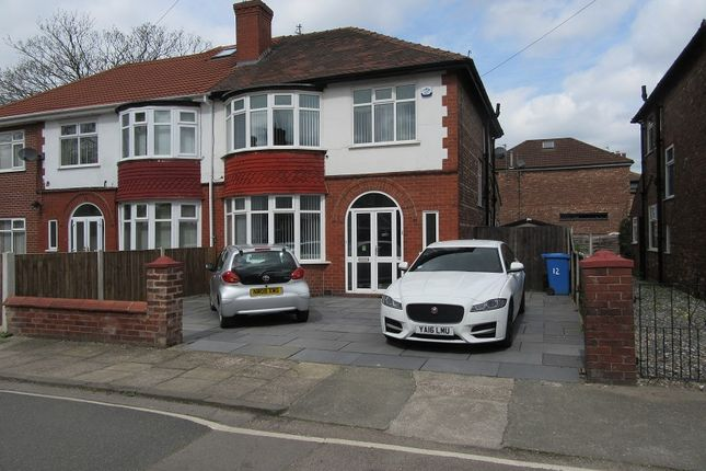 Thumbnail Semi-detached house for sale in Welney Road, Firswood, Manchester