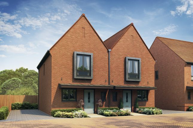 Thumbnail Semi-detached house for sale in The Hassocks, Halstead Lanes, Kings Road, West End, Woking, Surrey