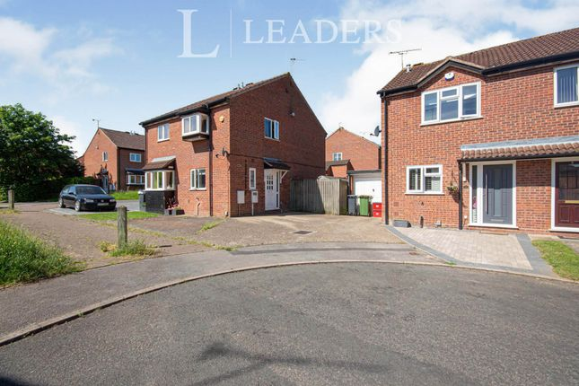 2 bed semi-detached house to rent in Longleat Grove, Leamington Spa, Warwickshire CV31