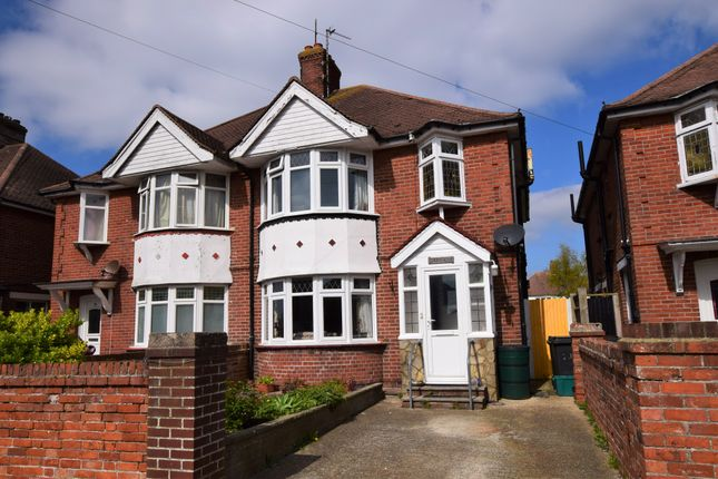 Thumbnail Semi-detached house for sale in Marlow Avenue, Eastbourne