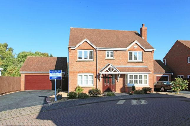 Thumbnail Detached house for sale in Merlin Coppice, Leegomery, Telford