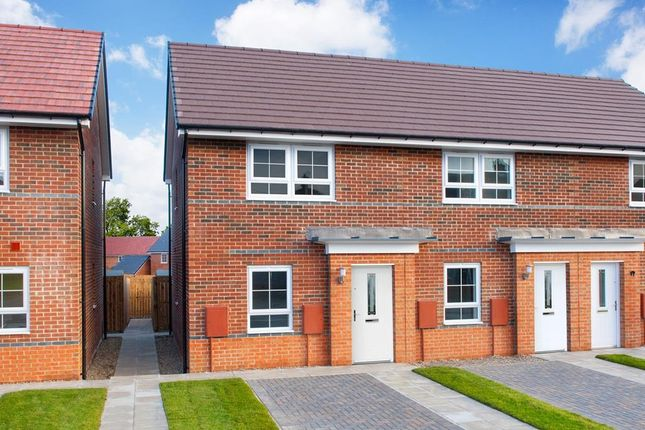 "Thumbnail Semi-detached house for sale in ""Kenley"" at Bedewell Industrial Park, Hebburn"
