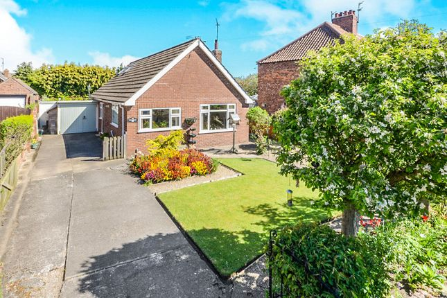 Thumbnail Detached bungalow for sale in Station Road, Haxby, York