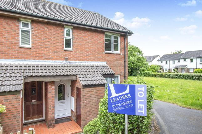 Thumbnail Flat to rent in Chatsworth Way, New Milton
